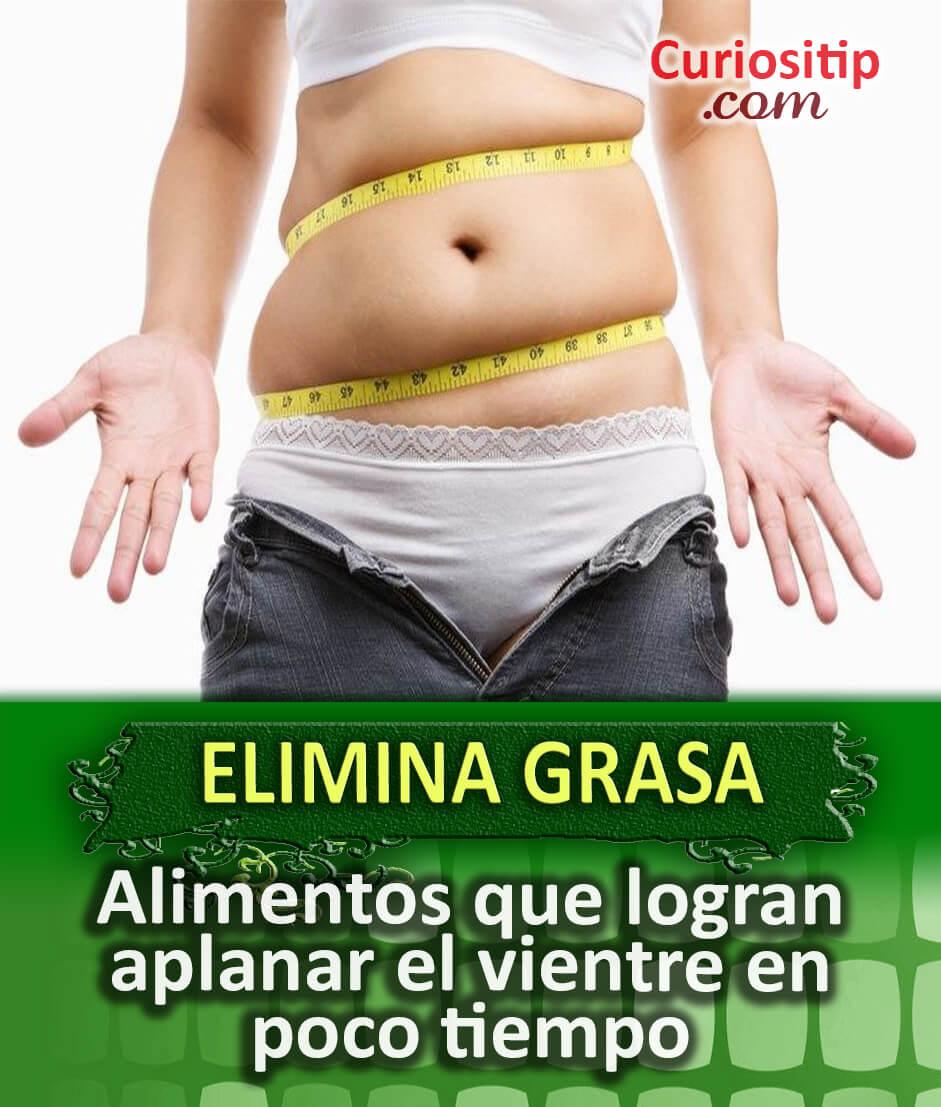 jugos o licuados para eliminar grasa abdominal