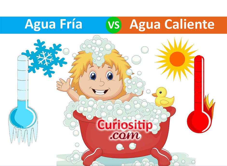 Beneficios de Bañarse con Agua Fria o Caliente