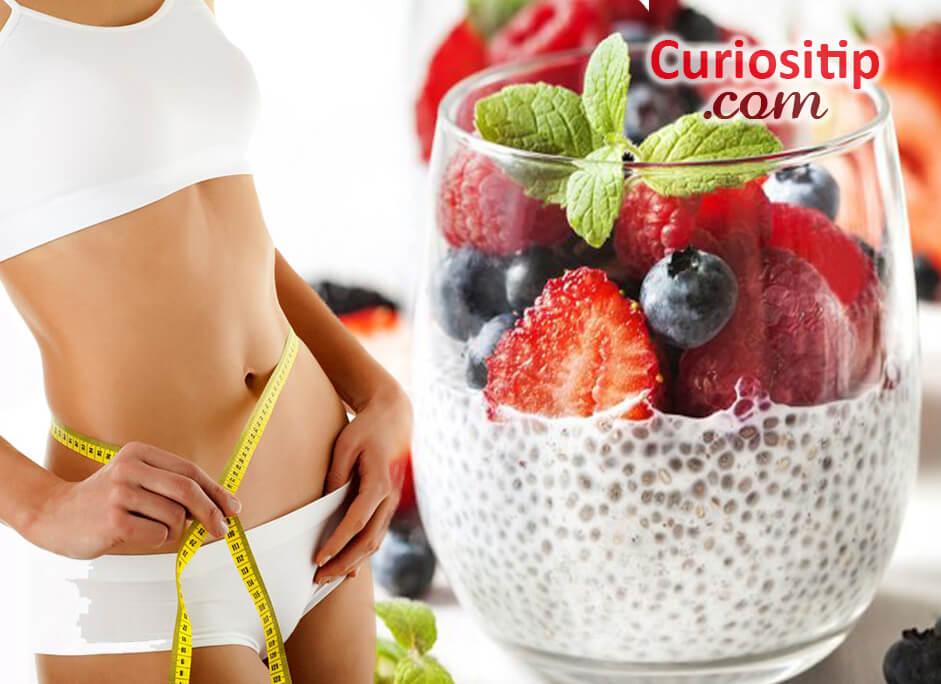 Chia Yogurt Alimento efectivo para ADELGAZAR