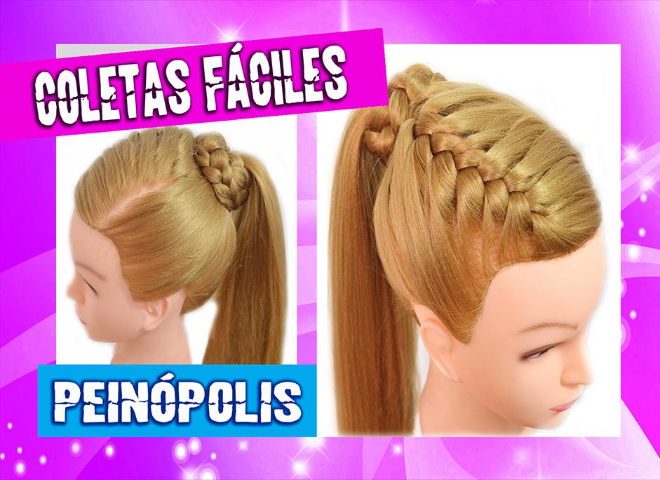 Peinados faciles coleta de lado